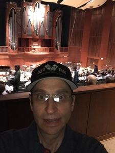 Jeffrey attended Meadows Symphony Orchestra on Sep 21st 2018 via VetTix
