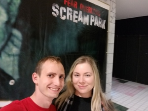 Cameron attended Fear Overload Scream Park - Sept 28 or Sept 29 Only on Sep 28th 2018 via VetTix