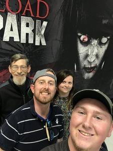 Jerimy attended Fear Overload Scream Park - Sept 28 or Sept 29 Only on Sep 28th 2018 via VetTix