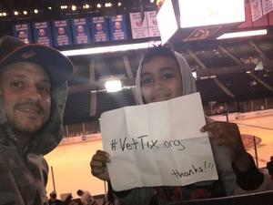 Victor attended New York Islanders vs. Philadelphia Flyers - NHL on Sep 16th 2018 via VetTix