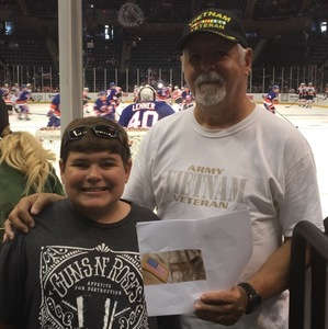 Frank attended New York Islanders vs. Philadelphia Flyers - NHL on Sep 16th 2018 via VetTix