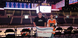 Bruce attended New York Islanders vs. Philadelphia Flyers - NHL on Sep 16th 2018 via VetTix