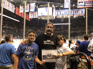Francisco attended New York Islanders vs. Philadelphia Flyers - NHL on Sep 16th 2018 via VetTix
