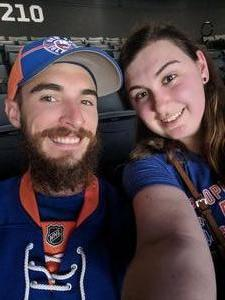 Edward attended New York Islanders vs. Philadelphia Flyers - NHL on Sep 16th 2018 via VetTix