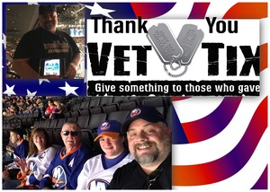 Darrell attended New York Islanders vs. Philadelphia Flyers - NHL on Sep 16th 2018 via VetTix