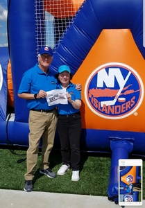Thomas attended New York Islanders vs. Philadelphia Flyers - NHL on Sep 16th 2018 via VetTix