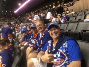 Billy attended New York Islanders vs. Philadelphia Flyers - NHL on Sep 16th 2018 via VetTix