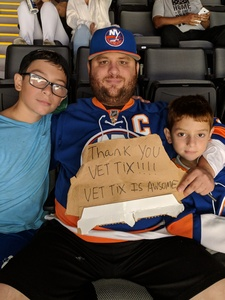 jason attended New York Islanders vs. Philadelphia Flyers - NHL on Sep 16th 2018 via VetTix