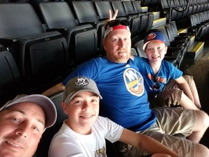 Christopher attended New York Islanders vs. Philadelphia Flyers - NHL on Sep 16th 2018 via VetTix