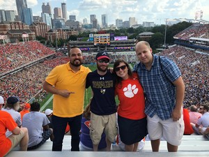 Rebecca attended Georgia Tech vs. Clemson - NCAA Football on Sep 22nd 2018 via VetTix