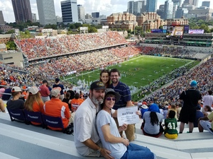 Fredrick attended Georgia Tech vs. Clemson - NCAA Football on Sep 22nd 2018 via VetTix