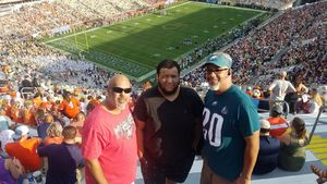 David attended Georgia Tech vs. Clemson - NCAA Football on Sep 22nd 2018 via VetTix
