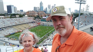 Keith attended Georgia Tech vs. Clemson - NCAA Football on Sep 22nd 2018 via VetTix