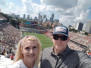 Bobby attended Georgia Tech vs. Clemson - NCAA Football on Sep 22nd 2018 via VetTix