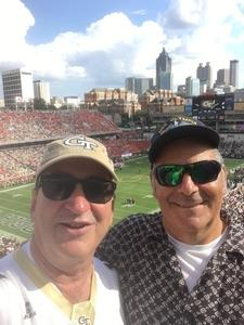 Randal attended Georgia Tech vs. Clemson - NCAA Football on Sep 22nd 2018 via VetTix