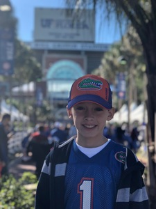 James attended Florida Gators vs. Idaho Vandals - NCAA Football on Nov 17th 2018 via VetTix