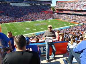 Frank attended Florida Gators vs. Idaho Vandals - NCAA Football on Nov 17th 2018 via VetTix