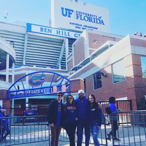 Tom attended Florida Gators vs. Idaho Vandals - NCAA Football on Nov 17th 2018 via VetTix