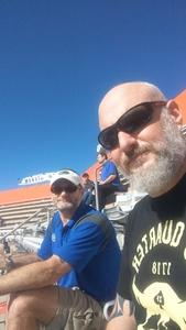 Michael attended Florida Gators vs. Idaho Vandals - NCAA Football on Nov 17th 2018 via VetTix