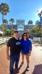 Franklin attended Florida Gators vs. Idaho Vandals - NCAA Football on Nov 17th 2018 via VetTix