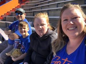 Melissa attended Florida Gators vs. Idaho Vandals - NCAA Football on Nov 17th 2018 via VetTix