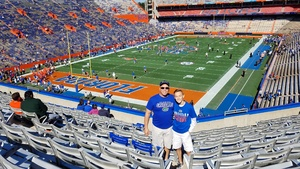 Rod attended Florida Gators vs. Idaho Vandals - NCAA Football on Nov 17th 2018 via VetTix