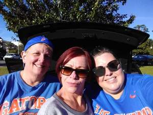 Patricia L. attended Florida Gators vs. Idaho Vandals - NCAA Football on Nov 17th 2018 via VetTix