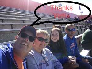 Steven attended Florida Gators vs. Idaho Vandals - NCAA Football on Nov 17th 2018 via VetTix