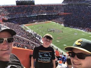 Craig attended Florida Gators vs. Idaho Vandals - NCAA Football on Nov 17th 2018 via VetTix