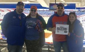 John attended Florida Gators vs. Idaho Vandals - NCAA Football on Nov 17th 2018 via VetTix