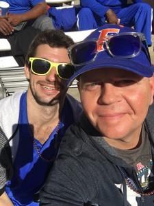 Ryan attended Florida Gators vs. Idaho Vandals - NCAA Football on Nov 17th 2018 via VetTix
