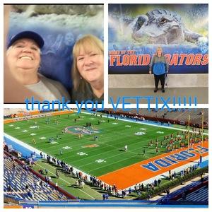 Charles attended Florida Gators vs. Idaho Vandals - NCAA Football on Nov 17th 2018 via VetTix