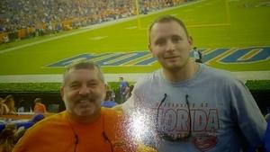 Gary attended Florida Gators vs. Idaho Vandals - NCAA Football on Nov 17th 2018 via VetTix