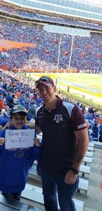 Darrell attended Florida Gators vs. Idaho Vandals - NCAA Football on Nov 17th 2018 via VetTix