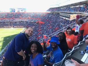 pamela attended Florida Gators vs. Idaho Vandals - NCAA Football on Nov 17th 2018 via VetTix