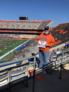 William attended Florida Gators vs. Idaho Vandals - NCAA Football on Nov 17th 2018 via VetTix