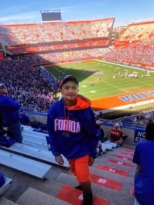 Hipolito attended Florida Gators vs. Idaho Vandals - NCAA Football on Nov 17th 2018 via VetTix