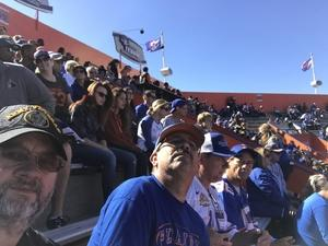 Kyle attended Florida Gators vs. Idaho Vandals - NCAA Football on Nov 17th 2018 via VetTix