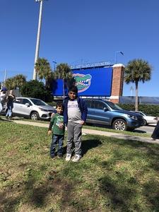 Nilson attended Florida Gators vs. Idaho Vandals - NCAA Football on Nov 17th 2018 via VetTix