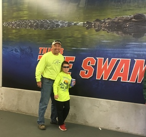 Jonathan attended Florida Gators vs. Idaho Vandals - NCAA Football on Nov 17th 2018 via VetTix