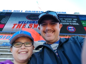 Jesse attended Florida Gators vs. Idaho Vandals - NCAA Football on Nov 17th 2018 via VetTix