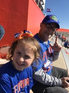 Stephen attended Florida Gators vs. Idaho Vandals - NCAA Football on Nov 17th 2018 via VetTix