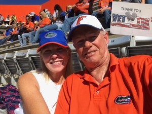 Peg attended Florida Gators vs. Idaho Vandals - NCAA Football on Nov 17th 2018 via VetTix
