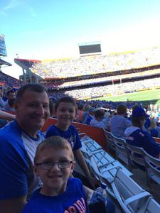 Paul attended Florida Gators vs. Idaho Vandals - NCAA Football on Nov 17th 2018 via VetTix