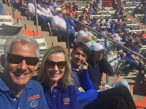 Steve attended Florida Gators vs. Idaho Vandals - NCAA Football on Nov 17th 2018 via VetTix