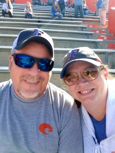 Joel and Dana attended Florida Gators vs. Idaho Vandals - NCAA Football on Nov 17th 2018 via VetTix