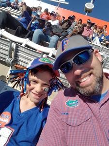 Mike attended Florida Gators vs. Idaho Vandals - NCAA Football on Nov 17th 2018 via VetTix