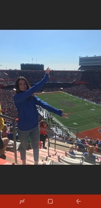 Mark attended Florida Gators vs. Idaho Vandals - NCAA Football on Nov 17th 2018 via VetTix