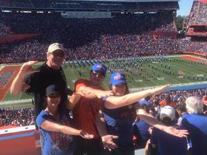 Leo attended Florida Gators vs. Idaho Vandals - NCAA Football on Nov 17th 2018 via VetTix