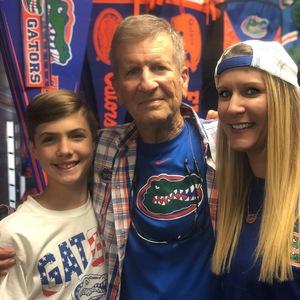 Jennifer attended Florida Gators vs. Idaho Vandals - NCAA Football on Nov 17th 2018 via VetTix